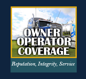 Owner Operator Coverage Insurance